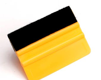 "3"" x 4"" Felt Wrapped Squeegee"