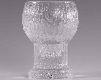 "IITTALA Crystal - KEKKERIT Pattern - Shot or Schnapps Glass / Glasses - 2 3/4"""