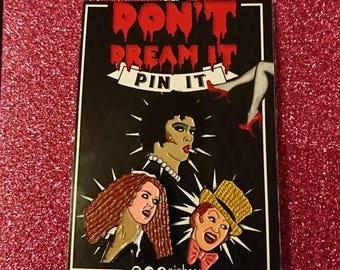 Rocky Horror triple pin set