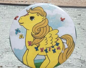 77mm handbag / pocket mirror My Little Pony book image