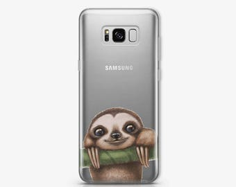 Sloth Case for Samsung Galaxy S8 Case Samsung Galaxy S7 Edge Case to Samsung Note 8 Case Samsung Note 5 Case Google Pixel XL Case AC1405