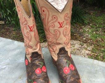 Vintage Custom Made Ladies Boots