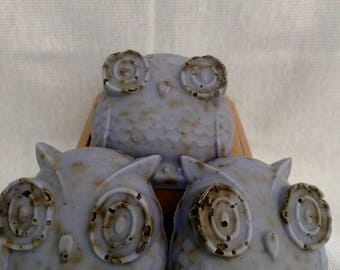 Whimisacal Owl Lavender soap