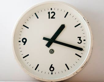 Industrial Wall Clock, Factory slave clock