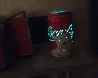 Coca-Cola polar bear can light