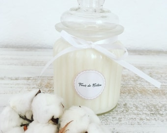 COTTON FLOWER – Natural Scented Candle – 250g