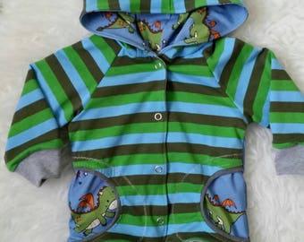 Baby jacket 74 * ears *.