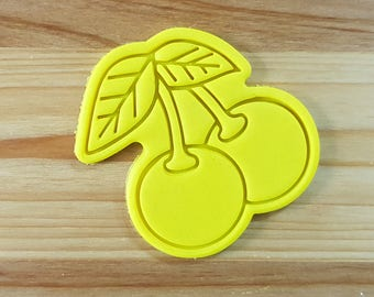 Cherry Cookie Cutter and Stamp