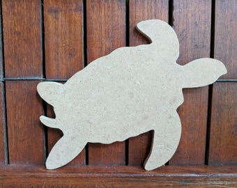 Unfinished Turtle for DIY, Crafts and Mosaic Base
