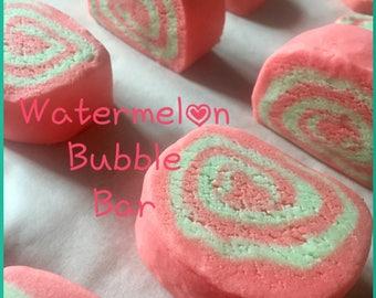 Watermelon Bubble Bar-bubble bath-solid bubble bath