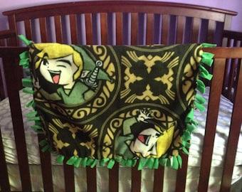 Legend of Zelda Baby Blanket