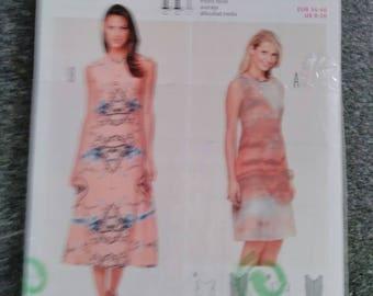 Dress woman Burda pattern Style 6807 new