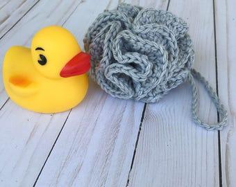 Crochet loofah / Bath pouf / Bath sponge / Shower puff / Crochet loofah / Shower loofah / Eco friendly / Bath poof / Crochet pouf/ Cotton