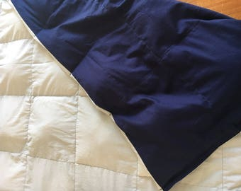 Adult Weighted Blanket, 100% cotton, Duo color Magic Blanket, Autism Pad, Therapy Blanket, Child Weighted Blanket,