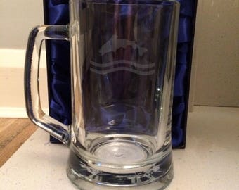 Tully of Riverrun / Pint Glass Tankard / Game of Thrones / GoT