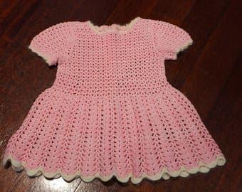 Girls crocheted Dress