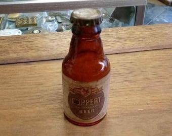 Miniature Ruppert Knickerbocker Beer Bottle