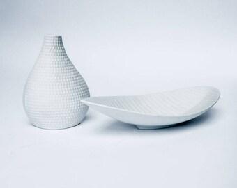 Stig Lindberg Reptile Vase and Bowl