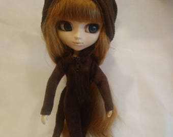 Cat suit for Pullip Stock, Obitsu 27 hard, Obitsu 27 soft