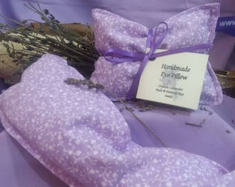 Lavender Eye Pillow – Flax Seed, Organic, Soothing, Calming, Relaxing