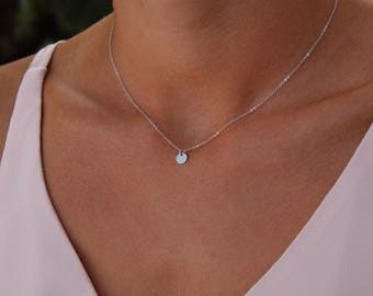 Chain - small plates of 925 sterling silver