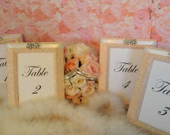 Frames, Weddings, Decorations, Table Number Frames, Table Numbers, Table Names, Summer Wedding Dec, Wedding Frames, Pink Wedding Decoration