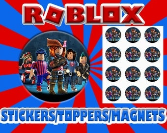 Roblox Stickers / Toppers / Magnets DIGITAL FILE ONLY