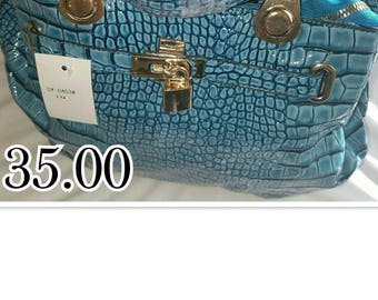 Women's Blue Purse
