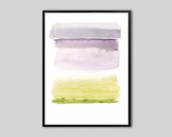 Watercolor abstract wall art print, Abstract art print, abstract wall art, abstract watercolor print, abstract painting, modern watercolor