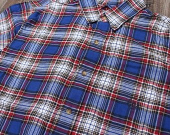 Vintage Ralph Lauren Chaps Checkered Shirt Size Medium