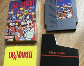 Dr. Mario - Nintendo NES Game Cartrdige BOXED