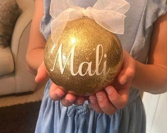 Large Personalised Baubles