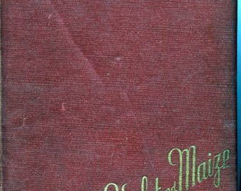 Summer Sale The Violet and Maize 1944 High School Yearbook Chicago Christian Chicago Il