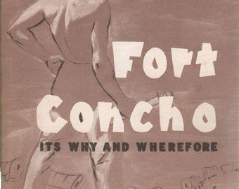 Summer Sale Fort Concho Its Why and Wherefore by J.N. Gregory 1970 Paperback Book