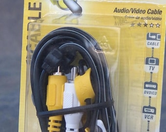 Summer Sale Philips 6Ft Audio Video Cable PH61103