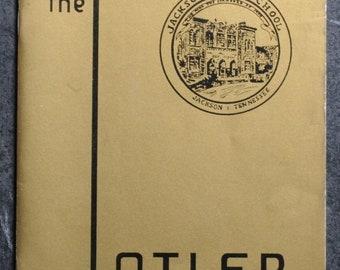 1974 Jackson High School Jackson, Tennessee Reunion (1954) Booklet The Tatler