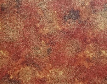 sparkly metallic COTTON FABRIC ideal for patchwork and quilting