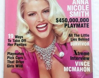 Vintage PlayBoy Magazine - Anna Nicole Smith