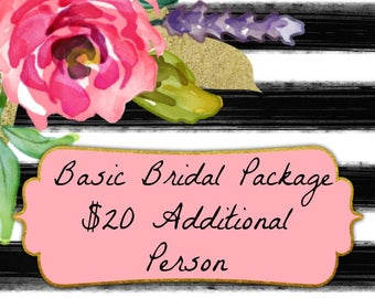 Additional Person for Basic Bridal Package