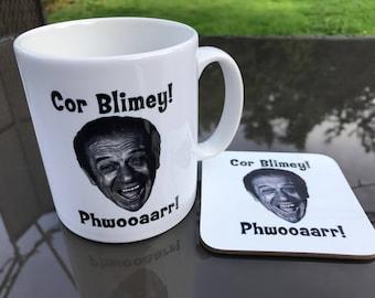 Sid James mug and coaster gift set