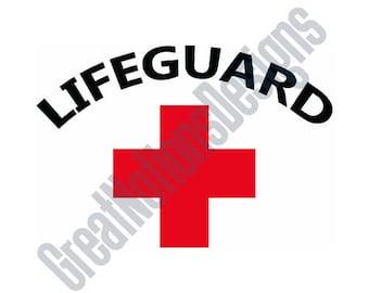 Lifeguard - SVG - HTV - Vinyl Cutting Graphic Art