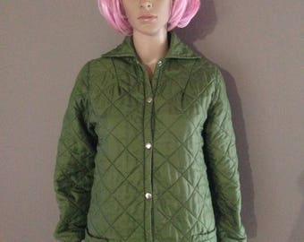 Retro padded jacket