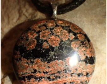 Speckled Obsidian, shield, protection