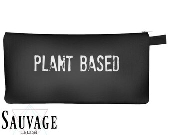 Plant based ( Vegan )• Pencils - Makeup - Phone whatever you want little bag • handmade in montreal