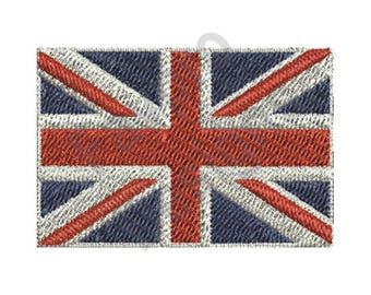 Great Britain Flag - Machine Embroidery Design