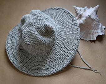 Vacation Getaway Beach Hat, Organic Cotton Hat, Summer Sun Hats, Linen Hats, Garden Hat, Easter Hat, Mothers Day Gifts