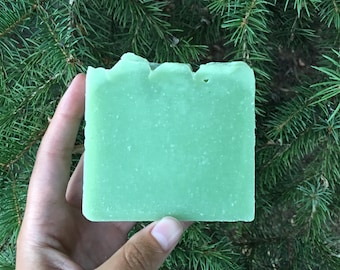 King of the Pines Artisan Soap; vegan soap made in small batches