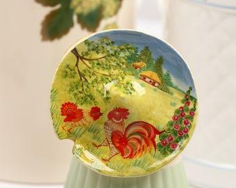 Petrykivka Painting Art Collectibles Petrykivka Figurine Mushroom Art Decor Home Decor Handmade Gift Ideas Papier Mache Art