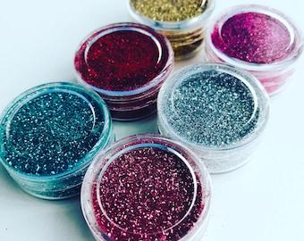 Bio-glitter cosmetic glitter multipack