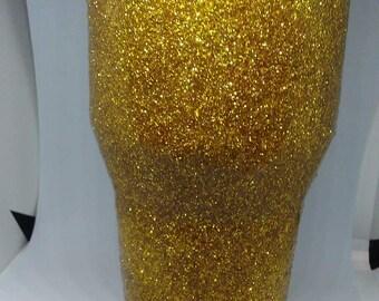 Glittering Gold Tumbler